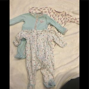 Other - Assorted pjs, great condition,  NB and 0-3 months